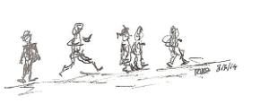 lopen van links naar rechts 001kopieklein