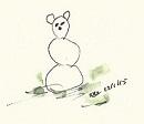 sneeuwkat kopieklein